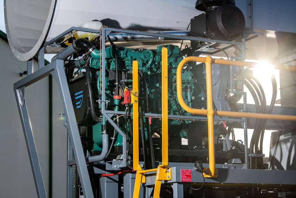 JMS-50-MDT - Volvo Penta T4 Engine
