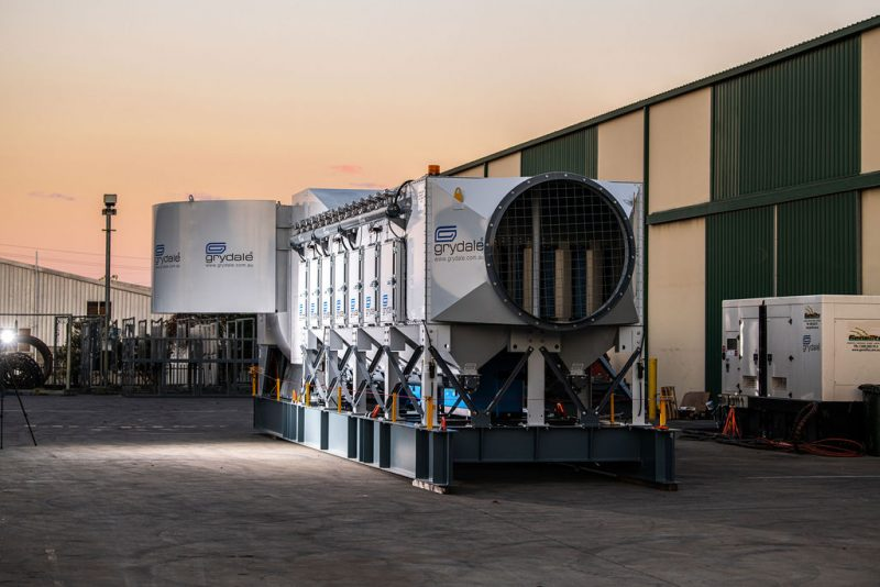 JMS-60-MES Mobile Electric Skid Dust Collector